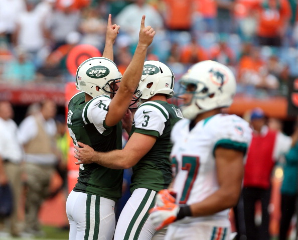 Jets Place Franchise Tag On Kicker Nick Folk