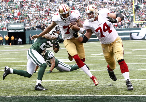 Jets Grounded by the Niners in 34-0 Whitewash