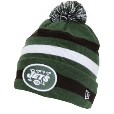 Win a Jets New Era Navy Sport 2012 Player Sideline Cuffed Knit Hat ... cea6ee6af60