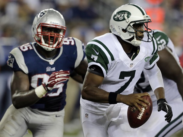 Smith Throws 3 Interceptions, Patriots Defeat Jets 13-10